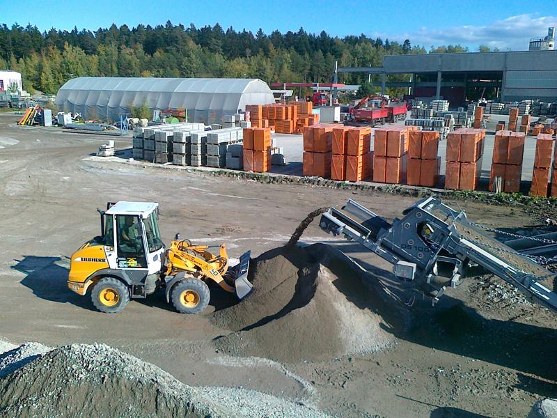 Bauschutt Recycling Aufbereitung