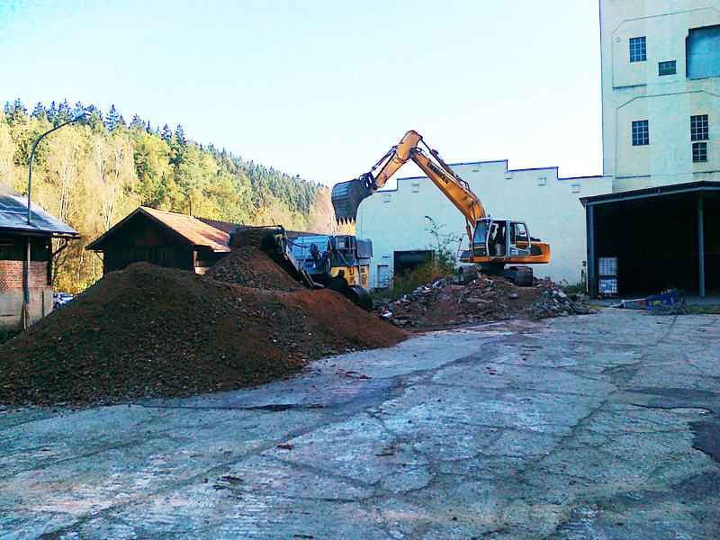 Recycling von Bauschutt Deggendorf